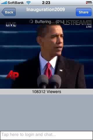 Obama-ustream